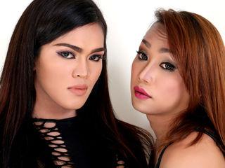 TwoHUGEcockTRANS Asian sex cams pics